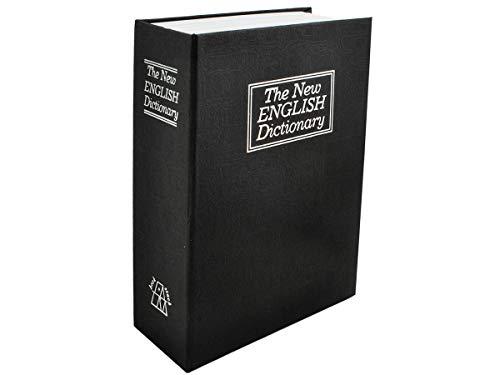 ISO TRADE Buch Safe 18x11,5cm Kassette 2 Schlüssel Versteck Geld Schmuck Wertsachen 6148