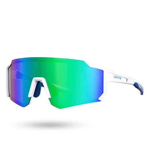 LBYSK Gafas De Sol Polarizadas En Bicicleta, Gafas De Sol De Ciclismo, Gafas De Bicicletas, Deporte De Conducción De Ciclismo Vasos Polarizados para Hombres Mujeres,C