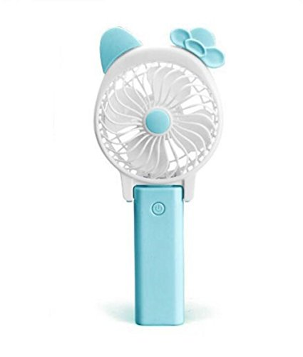 Fan/ Ventola da Ventilatore USB Mini Batteria Student Portable Handheld ricaricabile Grande Wind Mute Desktop per la casa e il viaggio
