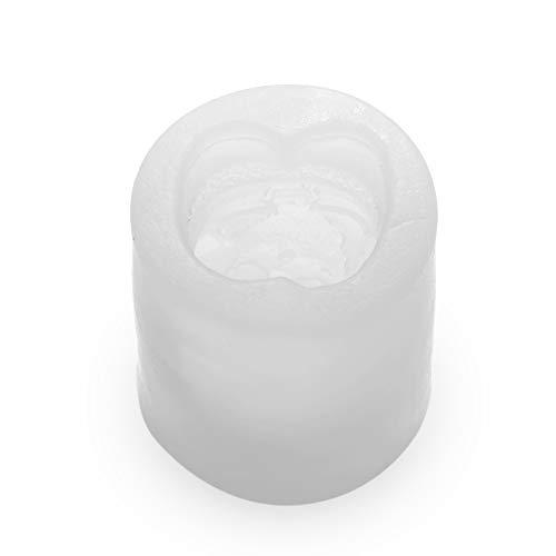 Duwx Ornament 3D Werkzeuge zur Herstellung von Schmuck Epoxy Resin Silicon Candle Aufbau des Modells Kristallresine Formen Silicon Mould(Santa Claus)