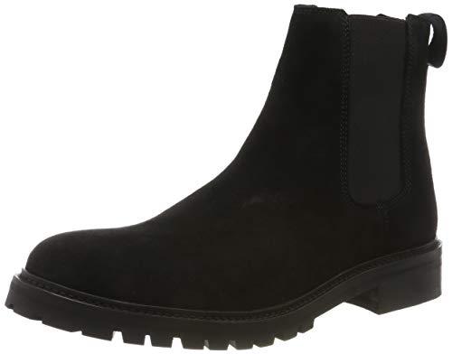 HUGO Explore_Cheb_wxsd, Herren Chelsea Boots, Schwarz (Black 001), 41 EU (7 UK)