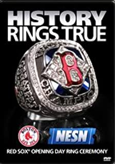 History Rings True , Red Sox Opening Day Ring Ceremony