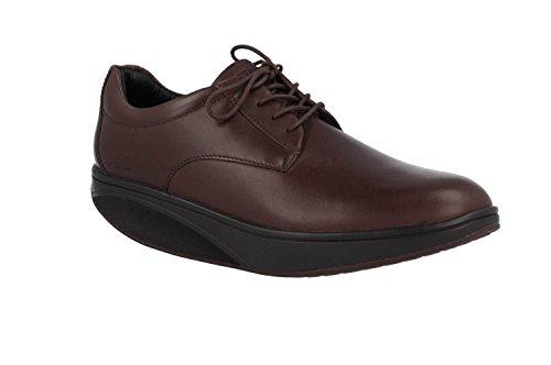 MBT Balozi Dress Luxe Plain Toe Oxford Zapato de Caballero, Café, 41