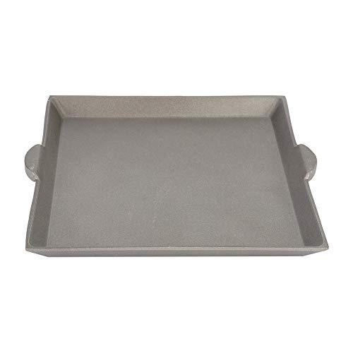 Bakplaat Vierkante Grillplaat Bakplaat Koekenplaten Barbecue Pan Steen Bakplaat Ronde Schaal Open Vuur Bakken Aluminium Antistick Grillplaat