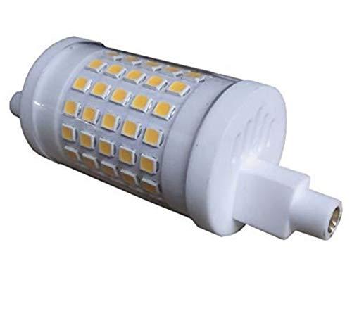 R7S LED 10W 78mm Regulable. Color Blanco Neutro (4500K). Lámpara de reflector. 230V CA, 900 lumenes. 360 grados. A++