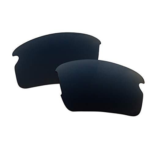 SOODASE Para Oakley Flak 2.0 Gafas de sol Negro Lentes de repuesto polarizadas