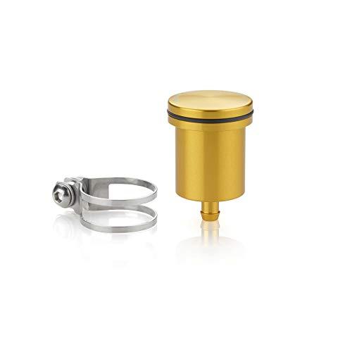 rizoma ct015g depósito fluido freno trasero 12cm3 oro compatible con suzuki v-strom 1000 xt 2017 17