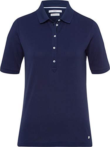 BRAX Damen Style Poloshirt, DEEP Blue, Large