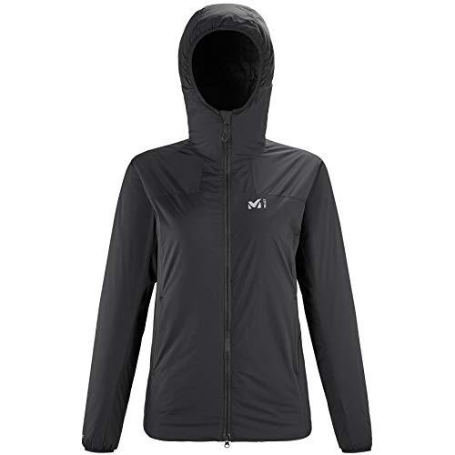 Millet – Chaqueta térmica K Belay Hoodie W para mujer, talla XL, color negro