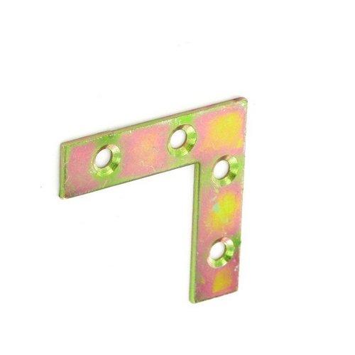 Securit Ecke Teller Zink vergoldet X 2–75mm