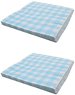 baby blue gingham party supplies