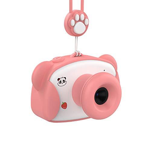 HXZ Kinder Kamera Jungen und Mädchen Mini Foto Spielzeug 1,5 Zoll HD Display Unterstützung Computer Übertragung Fotos USB Aufladung 6 Arten von Filtern 10 Sekunden Verzögerung Foto,Pink