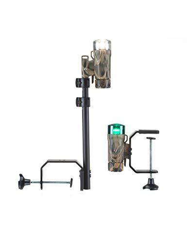 Attwood Marine Attwood PaddleSport Portable Navigation Light Kit - C-Clamp, Screw Down or Adhesive Pad - RealTree Max-4 Camo