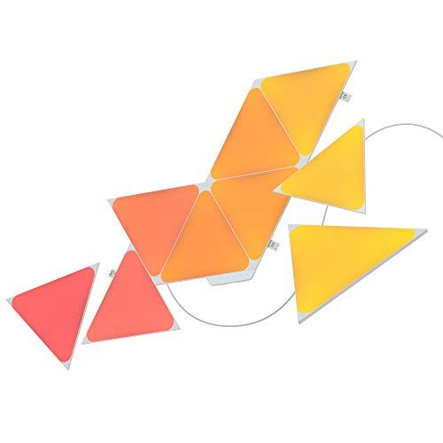 Nanoleaf Shapes Triangles Starter Kit - 9 Triangoli Luminosi