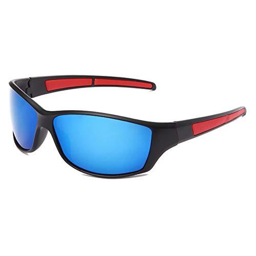 Polarisierte Sonnenbrille Herren Damen, Ultraleichter Rahmen Retro Sonnenbrille Männlich, Sport im Freien Golf Radfahren Angeln Wandern Eyewear Sonnenbrille,3