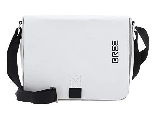 Pnch 61, blanc, shoulder bag S W20 BREE Collection Unisex-Erwachsene