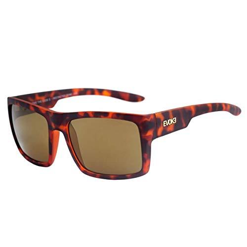 Óculos de sol The Code II, Evoke, Masculino, Tartaruga/Verde, Único