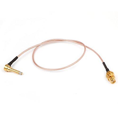 NOWON Enchufe MS156 Macho a sonda de Prueba Hembra SMA RG178 RG316 Cables de 35 cm