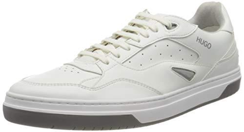 HUGO Herren Switon_Tenn_fl Sneaker, White100
