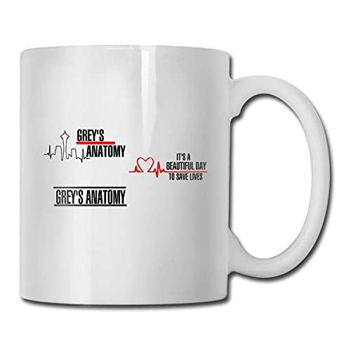 Younini Grey's Anatomy Taza de café taza,Taza de té,La taza de la oficina