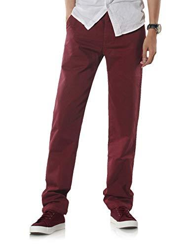 Demon&Hunter 900X Clásico-Fit Seires Hombre Chinos Pantalones DH9005(40)