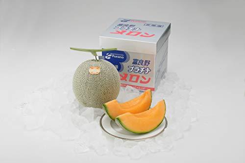 果物ギフト 北海道 ふらのプラチナメロン☆特秀☆1玉 2kg