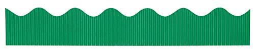 """Bordette Scalloped Decorative Border P37144, 2-1/4"""" x 50', Emerald, 1 Roll"""