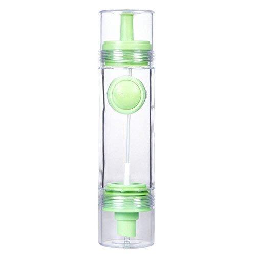 YYHEN New Multifunction 2 in 1 Nützliche Sprühgläser für ätherische Öle zu Hause Gewürzflaschen Zweiköpfige Gewürzflaschen (grün)