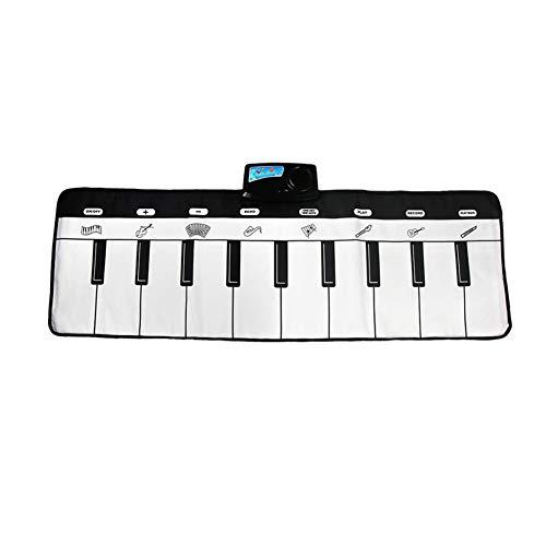 Wly Piano Mat Touch Play Keyboard Musical Mat Toys 43 x 7 Pulgadas Kids Music Teclados Diversión Aprendizaje Juguetes Educativos,A