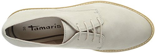 Tamaris Damen Oxfords, Beige (Ivory) - 7