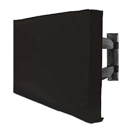 RENSHENKTO Cubierta de televisión al aire libre impermeable colgante disponible protector de pantalla interior universal
