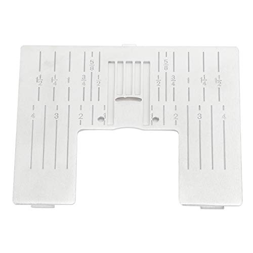 Reemplazo de placa de aguja, placa de aguja doméstica para máquina de coser PFAFF para principiantes
