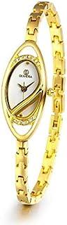 اوليفيرا OL8009-WHITE / GOLD ساعة للنساء