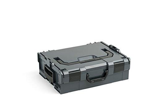 Bosch Sortimo L BOXX 136 | Größe 2 | Professioneller Werkzeugkoffer | Werkzeugkiste leer Kunststoff | Ideale Werkzeug Organizer Box