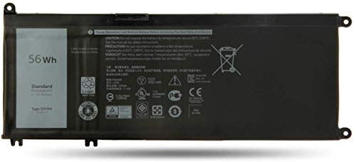 MLKB 33YDH Replacement Laptop Battery Compatible with Dell Inspiron 15 7577 17 7000 7773 7778 7786 7779 G3 15 3579 G3 17 3779 G5 15 5587 G7 15 7588 Latitude 13 3380 14 3490 15 3590 3580 P99NF2