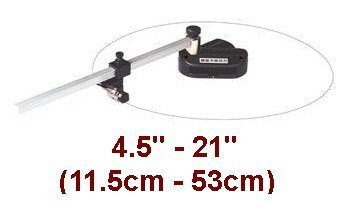 "Ardinbir Studio 4.5""-21"" Adjustable Hand Oval & Circle Mat Photo Paper Cutter Cut Round Hole Craft Cutting Tool Maker"