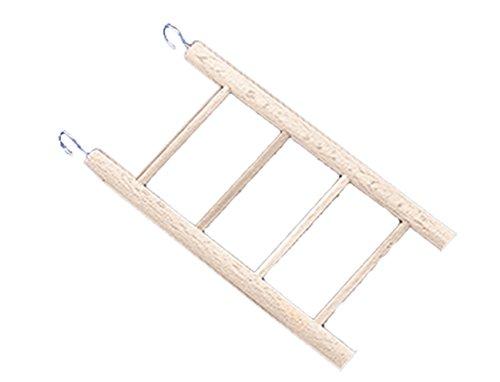 Nobby houten ladder 4 sporten; 18 x 7 cm
