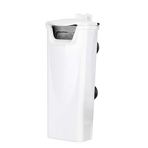 Filtro de Tortuga de Acuario de 220-240 V, Filtro silencioso de bajo Nivel de Agua, Filtro Interno Sumergible de Flujo de Cascada para pecera de Tortuga(SP-03)