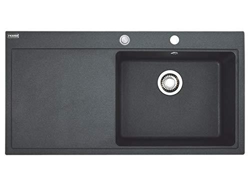 Franke Mythos MTG 611 Onyx - 10824 Granitspüle Exzenterbetätigung