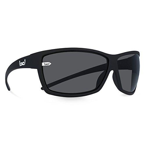 gloryfy unbreakable (G13 black matt) - Unzerbrechliche Sport Sonnenbrille, Sun Glasses Unisex, Sportlich, Damen, Herren - Schwarz