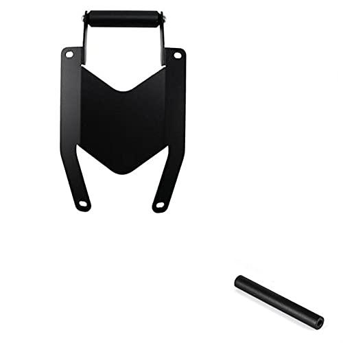 ZIHAN Feil Store Soporte de Motocicleta Teléfono Teléfono Móvil Teléfono GPS Placa de navegación Soporte Fit para Yamaha MT07 Tracer 700 2016-2020 (Color : Black)