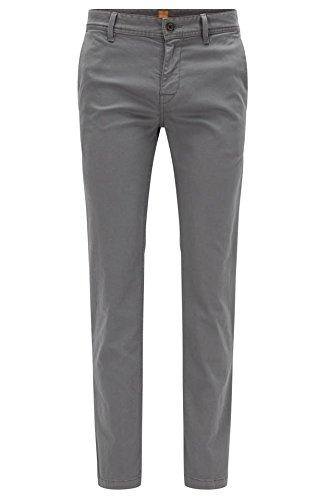 BOSS Orange Herren Schino-Slim1-D Straight Leg Hose, Grau (027), W36/L32