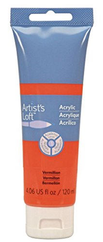 Artist's Loft Acrylic Paint, 4 oz (Vermillion)