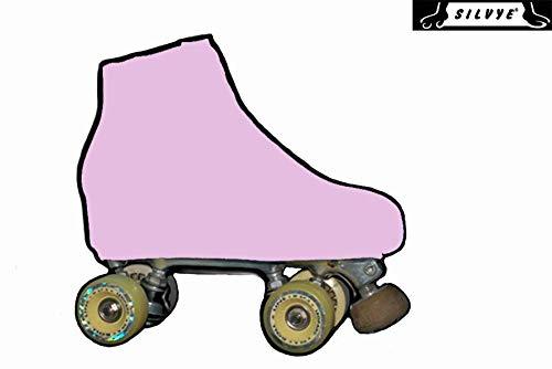 potente para casa Funda de patinaje sobre hielo SILVYE para patinaje artístico, rosa (rosa caramelo, talla S)