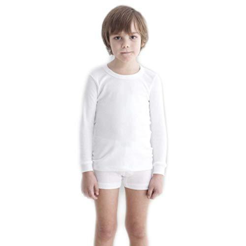 BABIDU Camiseta Interior de Felpa Manga Larga para niño Talla 2-4años