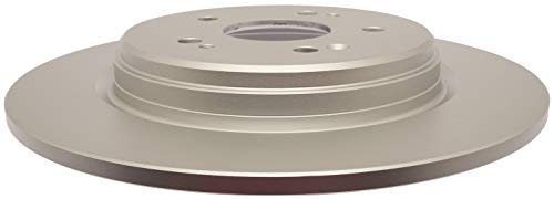 ACDelco Advantage 18A82123AC Coated Rear Disc Brake Rotor