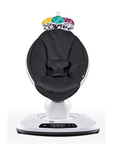 4moms mamaRoo, Hamaca High-Tech para Bebés Activada por Bluetooth – Tejido de...