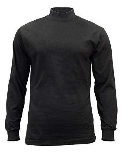 Mock Turtleneck-black, L