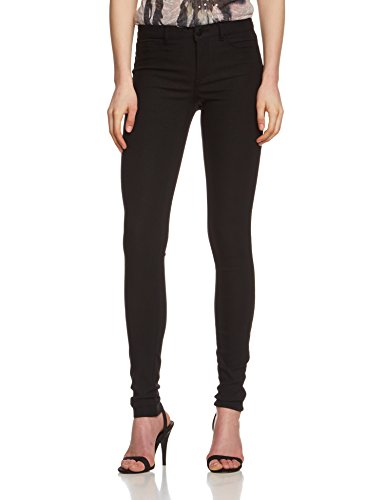 PIECES dames skinny broek Pcjust Wear R.m.w. Legging/zwart