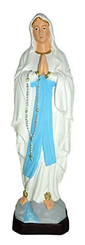 Ferrari & Arrighetti SNC Unzerbrechliche Statue handbemalt cm 20–Madonna von Lourdes